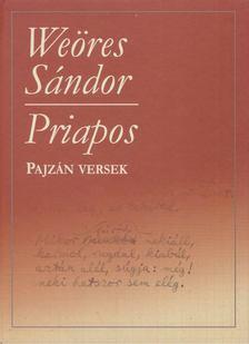WEÖRES SÁNDOR - Priapos [antikvár]