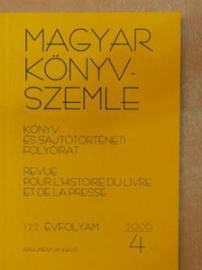 Ekler Péter - Magyar Könyvszemle 2006/4. [antikvár]
