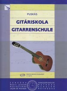 PUSKÁS - GITÁRISKOLA