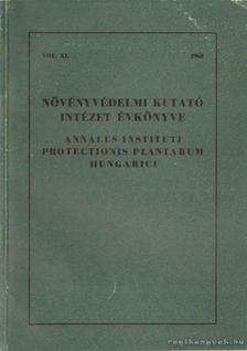 Dr. Kacsó András - Növényvédelmi Kutató Intézet évkönyve 1968. [antikvár]
