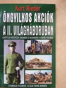 Géczi Zoltán - Öngyilkos akciók a II. világháborúban [antikvár]