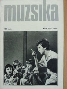 Bánki László - Muzsika 1980. június [antikvár]