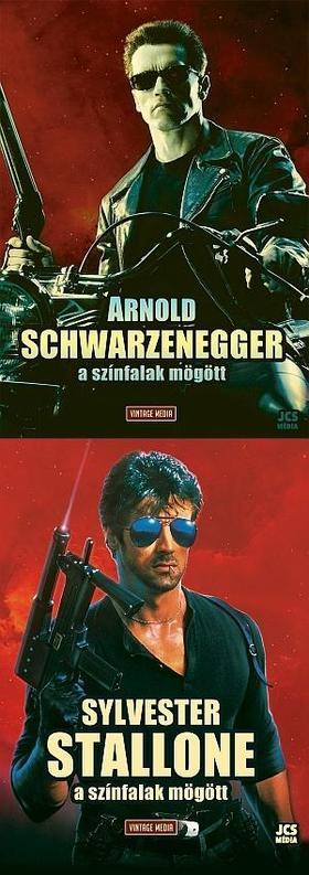 Arnold Schwarzenegger - A színfalak mögött + Sylvester Stallone - A színfalak mögött Könyvcsomag