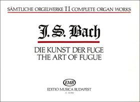 J. S. Bach - SAEMTLICHE ORGELWERKE 11: DIE KUNST DER FUGE (ZÁSZKALICZKY TAMÁS)