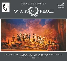 PROKOFIEV - WAR & PEACE 3CD ERMLER