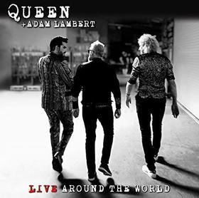 QUEEN, ADAM LAMBERT - LIVE AROUND THE WORLD - CD