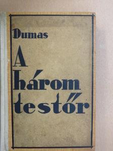 Alexandre Dumas - A három testőr [antikvár]