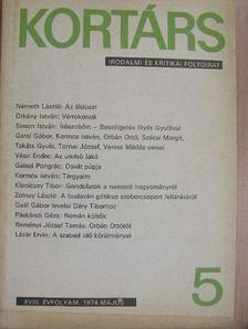 Bata Imre - Kortárs 1974. május [antikvár]