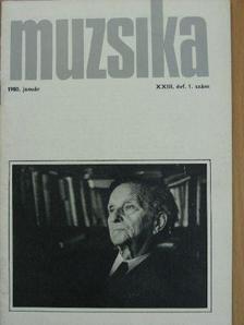 Boronkay Antal - Muzsika 1980. január [antikvár]