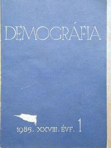 Dr. Erdősi Ferenc - Demográfia 1985/1. [antikvár]