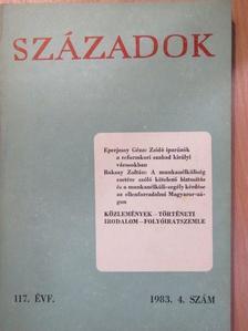 Babanászisz Szteriosz - Századok 1983/4. [antikvár]
