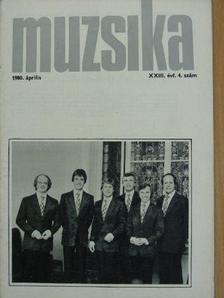 Albert Mária - Muzsika 1980. április [antikvár]