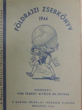 Dr. Bacsó Nándor - Földrajzi zsebkönyv 1944 [antikvár]