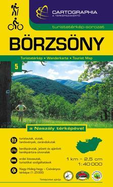 """Cartographia - Börzsöny turistatérkép (1:40.000 """"SC"""")"""