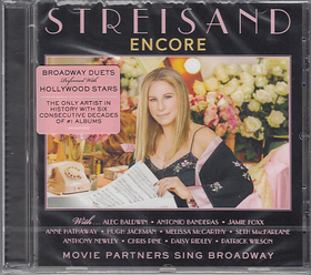 ENCORE CD - BARBARA STREISAND & MOVIE PARTERS SING BROADWAY