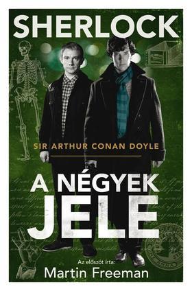 Arthur Conan Doyle - A négyek jele - Filmes borító