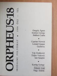 Pomogáts Béla - Orpheus 1996. Ősz-tél [antikvár]