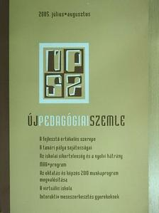 Benkő Zsuzsanna - Új Pedagógiai Szemle 2005. július-augusztus [antikvár]