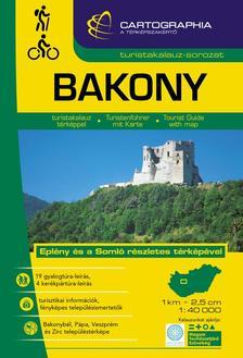 "Cartographia Kiadó - BAKONY TURISTAKALAUZ - ""SC"""