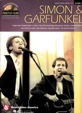 SIMON & GARFUNKEL. PIANO / VOCAL / GUITAR + CD VOL.108