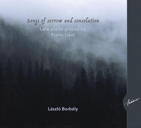 LISZT - SONGS OF SORROW AND CONSOLATION CD BORBÉLY
