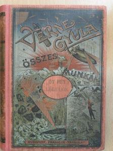 Jules Verne - Öt hét léghajón [antikvár]