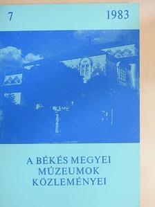 Forman István - A Békés megyei múzeumok közleményei 1983/7. [antikvár]