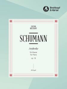 Schumann, Robert - ARABESKE OP.18 FÜR KLAVIER (CLARA SCHUMANN/JOACHIM DRAHEIM)