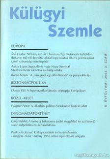 Kiss J. László - Külügyi szemle II. évf.  2003. 3. [antikvár]