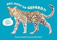 Inca Starzinsky (design) - Még hogy én gepárd?! - Memóriajáték hasonló állatokkal