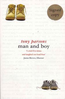 Tony PARSONS - Man and Boy [antikvár]