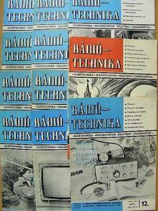 Bassó Andor - Rádiótechnika 1977. (nem teljes évfolyam) [antikvár]