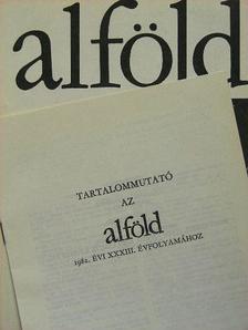 Antalffy Gyula - Alföld 1983/1. [antikvár]