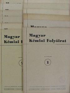 Almássy Gyula - Magyar Kémiai Folyóirat 1953. január-december [antikvár]