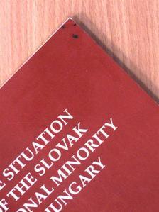 A magyarországi szlovák nemzeti kisebbség helyzete [antikvár]