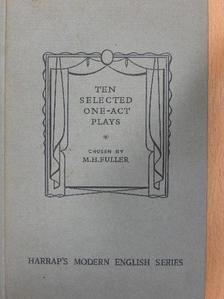A. A. Milne - Ten Selected One-Act Plays [antikvár]