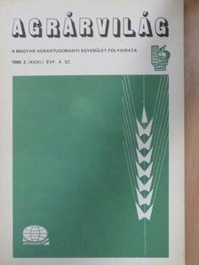 Dr. Csepregi István - Agrárvilág 1989. szeptember [antikvár]