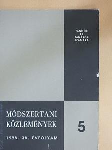 Besir Anna - Módszertani közlemények 1998/5. [antikvár]