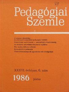 A. A. Frolov - Pedagógiai Szemle 1986. június [antikvár]