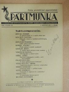 Donáth Ferenc - Pártmunka 1945. július 15. [antikvár]
