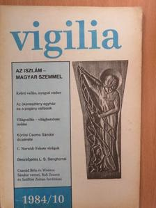 Alszeghy Zoltán - Vigilia 1984. október [antikvár]