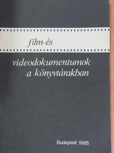 Biró Ferenc - Film- és videodokumentumok a könyvtárakban [antikvár]