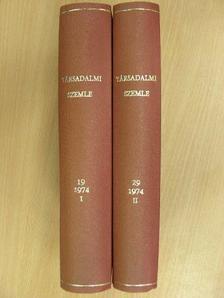 A. Sztadnyicsenko - Társadalmi Szemle 1974. január-december I-II. [antikvár]