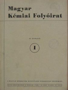 Braun Tibor - Magyar Kémiai Folyóirat 1957. január-december [antikvár]