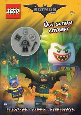 LEGO Batman - Üdv Gotham Cityben! (Foglalkoztatókönyv ajándék minifigurával)