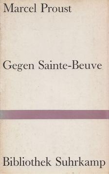 Marcel Proust - Gegen Sainte-Beuve [antikvár]