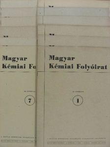 Almássy Gyula - Magyar Kémiai Folyóirat 1954. január-december [antikvár]