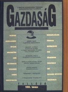 Antal László - Gazdaság 1993-1994/1-2. [antikvár]