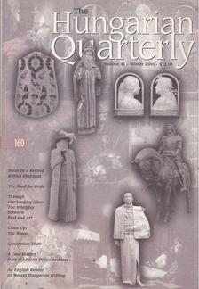 Vajda Miklós - The Hungarian Quarterly Volume 41 Winter 2000 [antikvár]