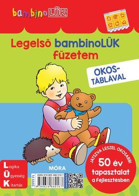 Legelső bambinoLÜK füzetem + OKOSTÁBLÁVAL